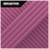 Super reflective paracord 50/50, Pastel pink Matrix #RM015