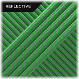 Super reflective paracord 50/50, Neon green Twist #RT017
