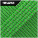 Super reflective paracord 50/50, Neon green Wave #RW017