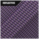 Super reflective paracord 50/50 , Violet Wave #RW027