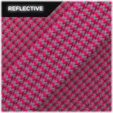 Super reflective paracord 50/50, Sofit pink Wave #RW315