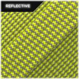 Super reflective paracord 50/50, Sofit yellow Wave #RW319