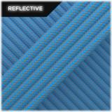 Super reflective paracord 50/50, Ocean Blue Stripes #RSt337