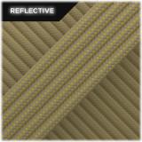 Super reflective paracord 50/50, Boa Stripes #RSt454