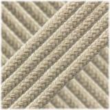 Braided Cotton Rope - 6 mm white