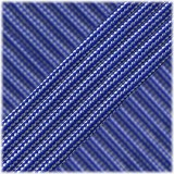 Paracord Type III 550 (PES) Blue silver srtipes #12048
