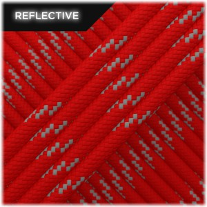 Paracord reflective, Red #R021