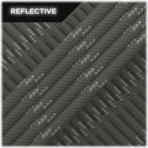 Paracord reflective, dark grey #r3030