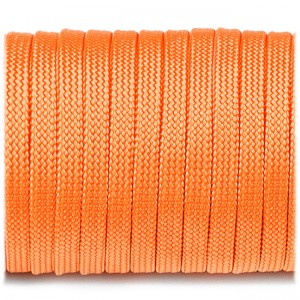 Coreless Paracord, orange yellow #044