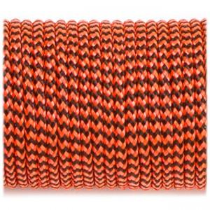 Minicord (2.2 mm), orange black wave #377-2
