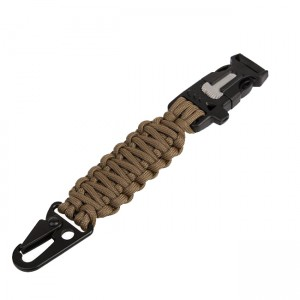 Tactical keychain 5in1, Coyote