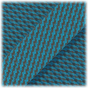 Paracord Type III 550, sky grey twist #374