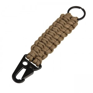 "Key fob ""Loops"", Coyote Brown"