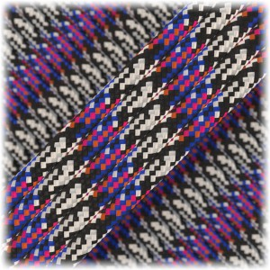 Paracord Type III 550, holly-jolly #189