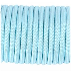 Paracord 550 fluorescent light blue  #PF002