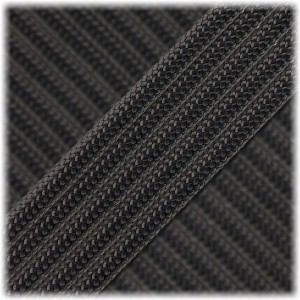 Paracord Type III 550, black carbon #407