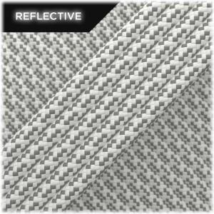 Paracord reflective, White Matrix #RM007