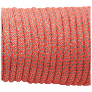 Super reflective paracord 50/50 , Sofit Orange Snake #345