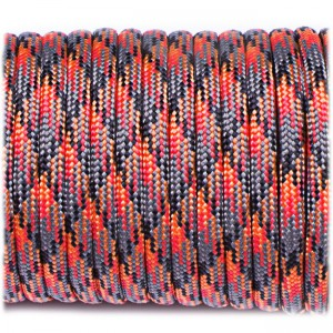 Paracord Type III 550, lava #302