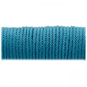 Microcord (2mm) fluorescent blue #fl-001-2