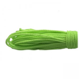 Microcord (2mm) fluorescent green #fl-025-2
