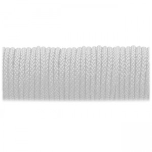 Microcord (2mm) fluorescent white #fl-007-2
