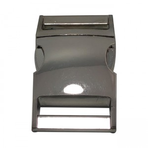 Buckle, stainless steel, 30mm