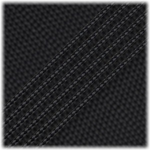 Microcord Reflective(1.2 mm), black
