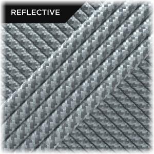 Paracord reflective, White Twist #RT007