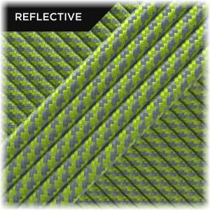 Super reflective paracord 50/50, Lime Twist #RT020