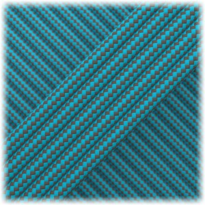 Paracord Type III 550, Grey Blue Stripes #153