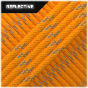 Paracord reflective, apricot #R045