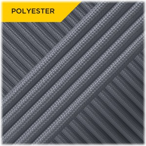 Paracord Type III 550 (PES) Silver #0396