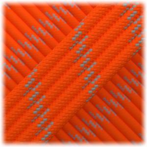 Reflective Paracord Type III 550 (PES) #10272 orange