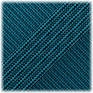 Paracord Type III 550, Ice mint Black Stripes #109