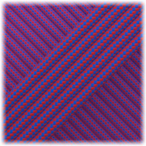 Paracord Type III 550, Blue Red Stripes