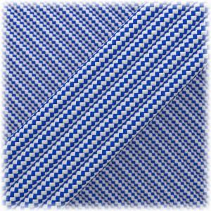 Paracord Type III 550, Blue white stripes #110