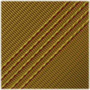 Microcord (1.2 mm), Red yellow stripes #128-175