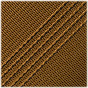 Microcord (1.2 mm), Apricot Black Stripes #136-175