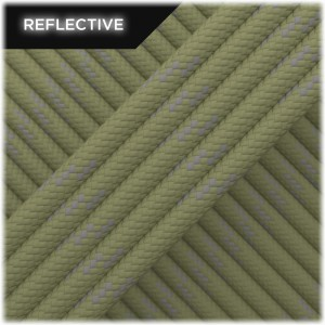 Paracord reflective, Light Khaki #R014