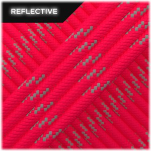 Paracord reflective, Neon pink #R300