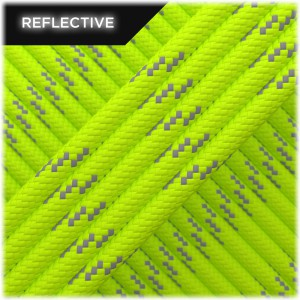 Paracord reflective, Lime #R020
