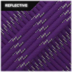 Paracord reflective, Violet #R027