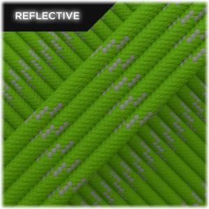Paracord reflective, Green golf #R455