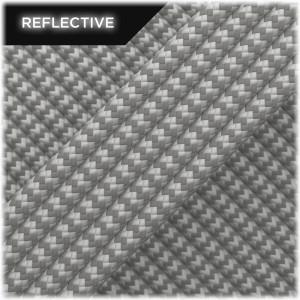 Super reflective paracord 50/50, Silver Wave #RW002