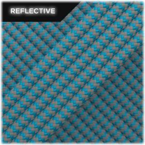 Super reflective paracord 50/50, Ice Mint Wave #RW049