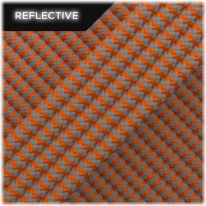 Super reflective paracord, Orange yellow Wave #RW044