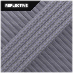 Super reflective paracord 50/50 , Shark Stripes #RSt456