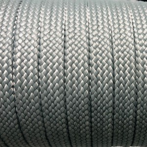 Coreless Paracord 14 mm, Steel grey #032