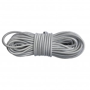 Shock Cord (5 mm), Silver #s002-5